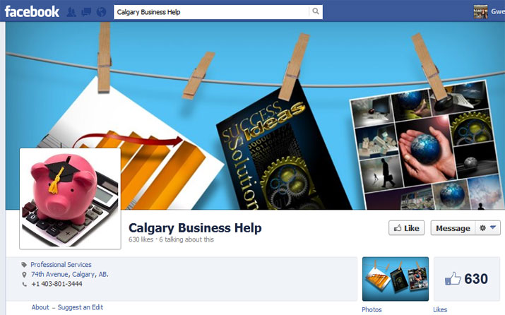 Calgary Business Help Facebook Page